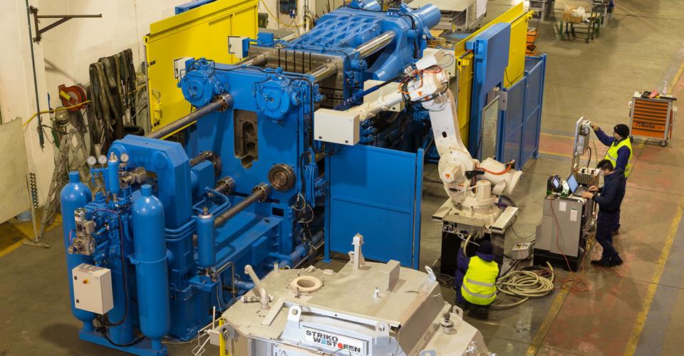 COLD-CHAMBER DIECASTING MACHINES