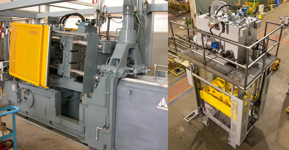 HOT-CHAMBER DIECASTING MACHINES & TRIMMING PRESSES